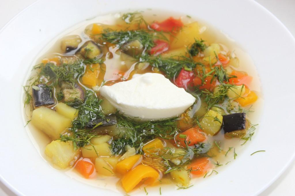 Овощная диета супы